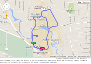 My Sisters Place 5k route